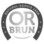 logo or brun bw